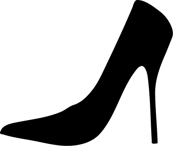 shoe silhouette shoe stiletto high heels free vector graphic on pixabay silhouette shoe