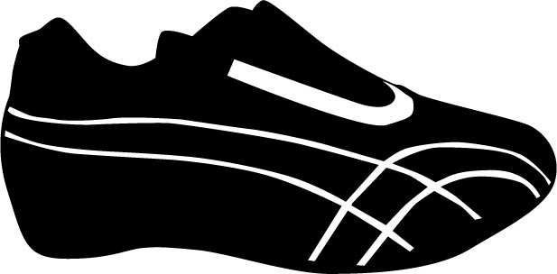 shoe silhouette tennis shoe silhouette at getdrawings free download silhouette shoe