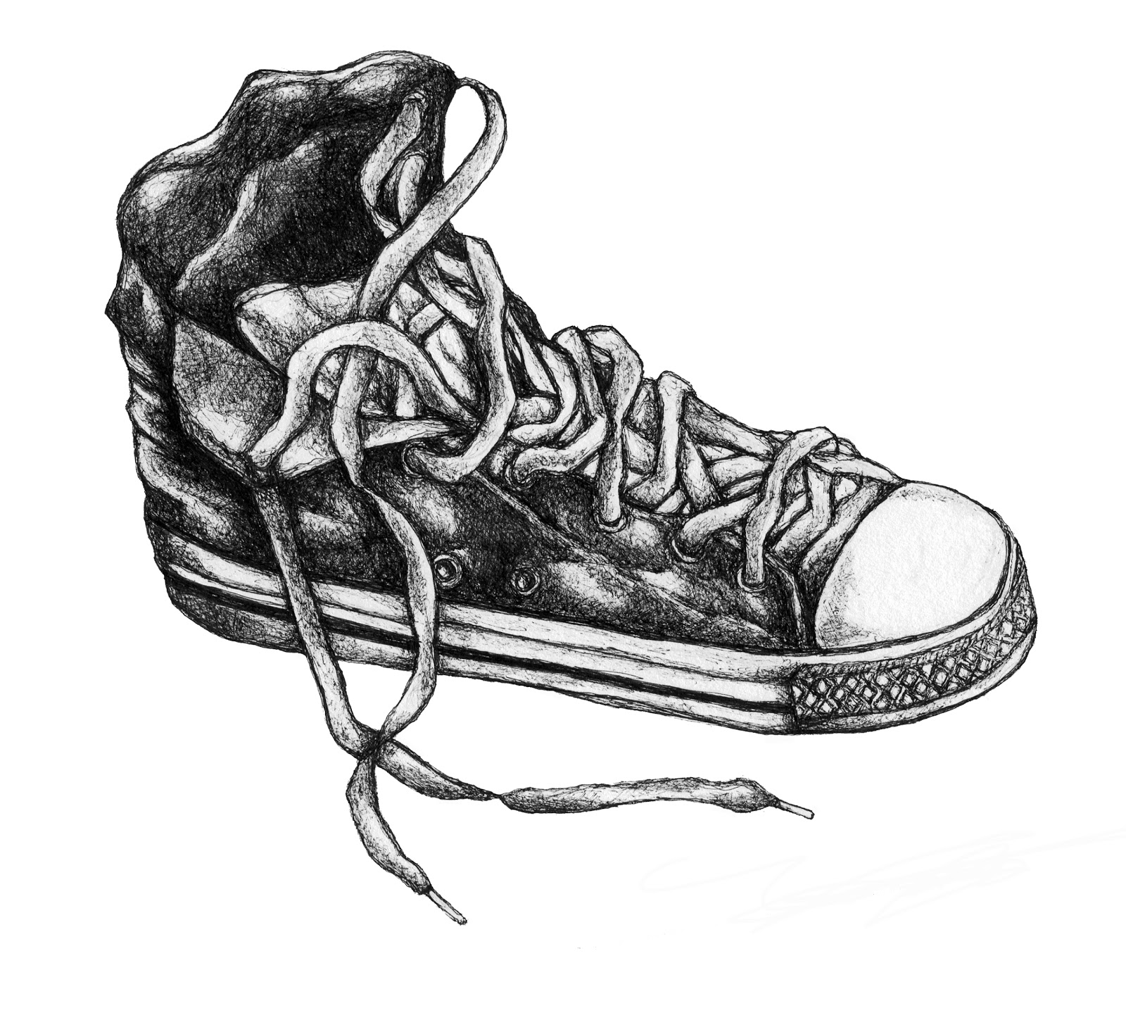 shoes drawing basketball shoes drawing at paintingvalleycom explore shoes drawing