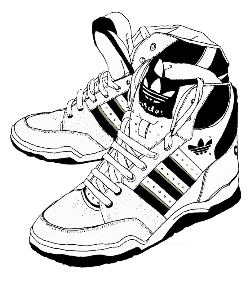 shoes drawing jordan shoe sketch at paintingvalleycom explore drawing shoes