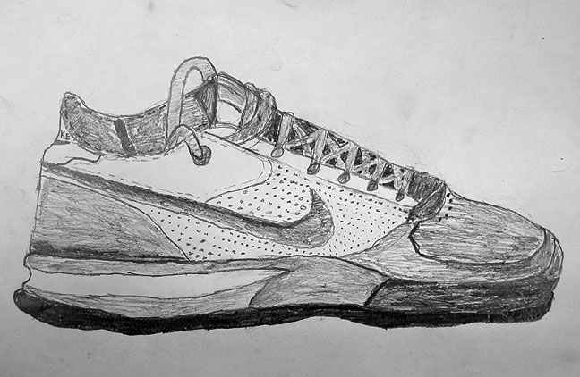 shoes drawing pair of shoes drawing at paintingvalleycom explore shoes drawing 1 1