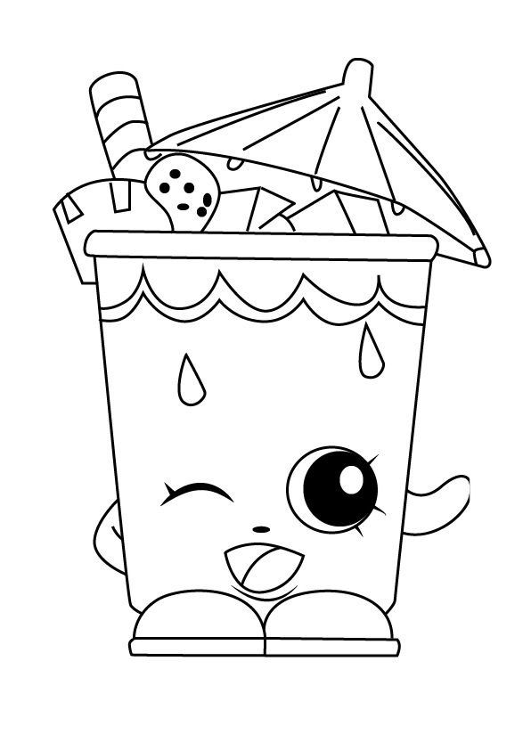 shopkins drawings cupcake drawing outline at getdrawings free download drawings shopkins