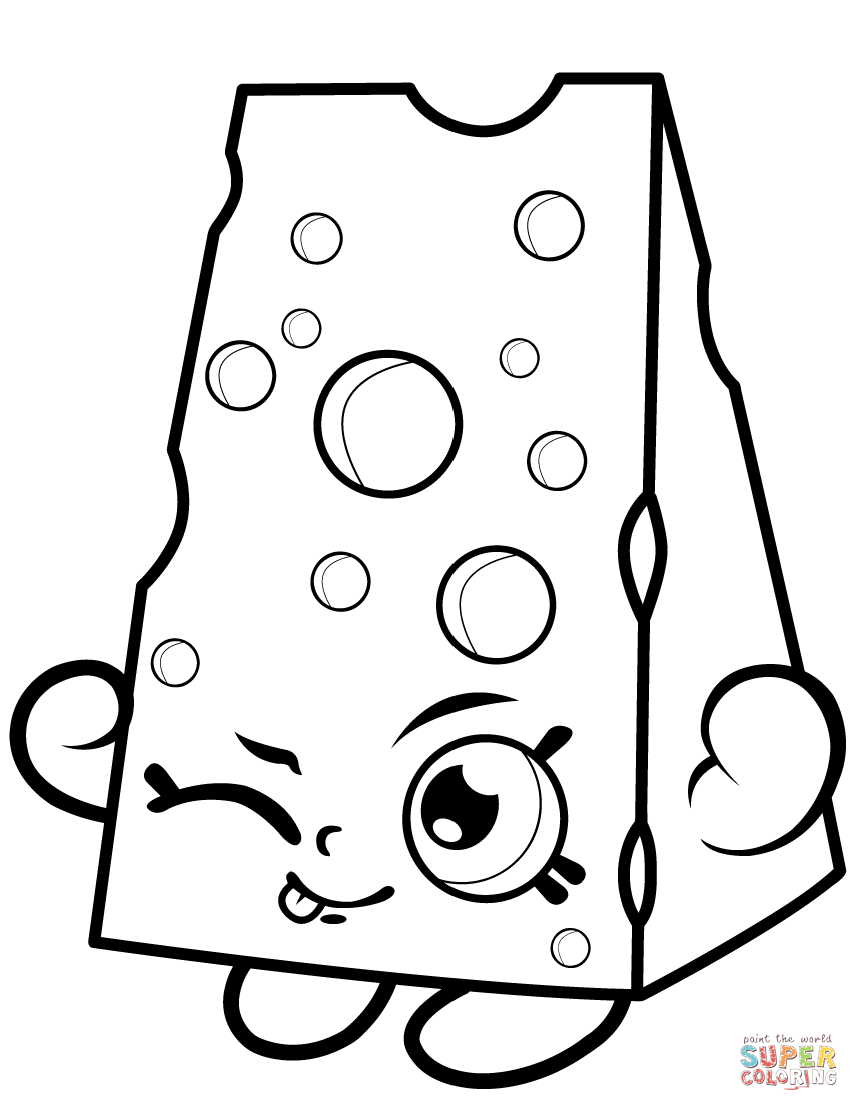shopkins images chee zee shopkin coloring page free printable coloring images shopkins