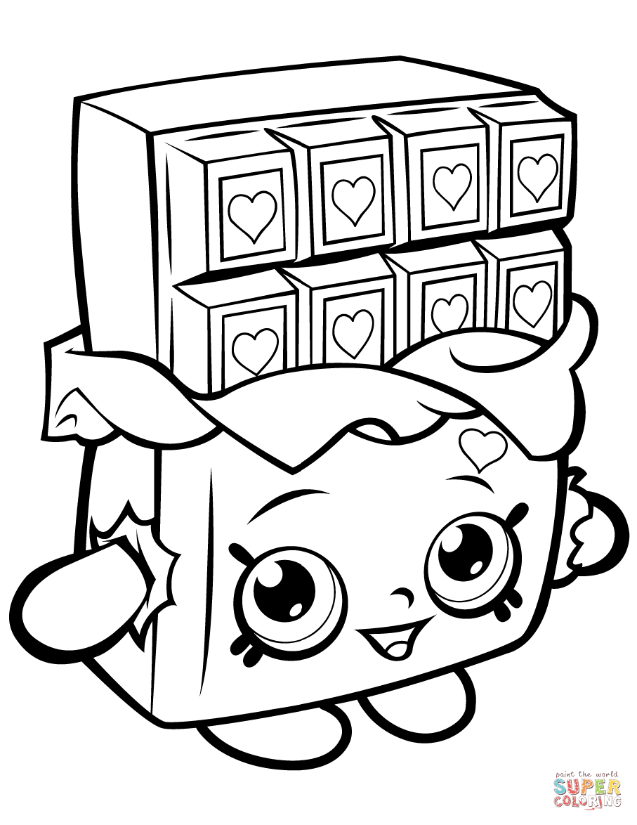 shopkins images chocolate cheeky shopkin coloring page free printable shopkins images