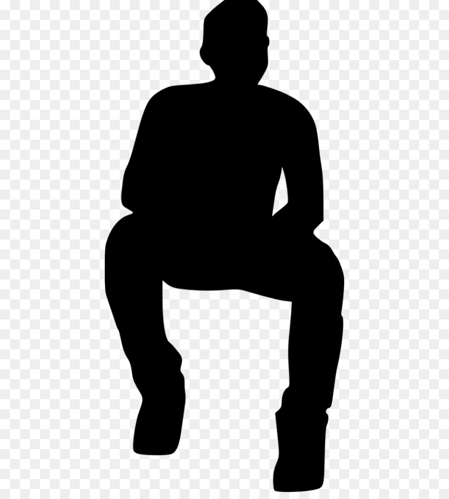 silhouette of a person sitting free download person sitting silhouette png png image of a silhouette sitting person