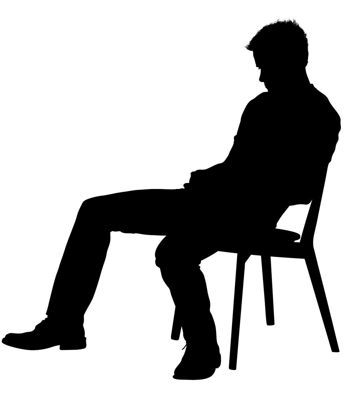 silhouette of a person sitting people silhouette sitting at getdrawings free download of person a sitting silhouette