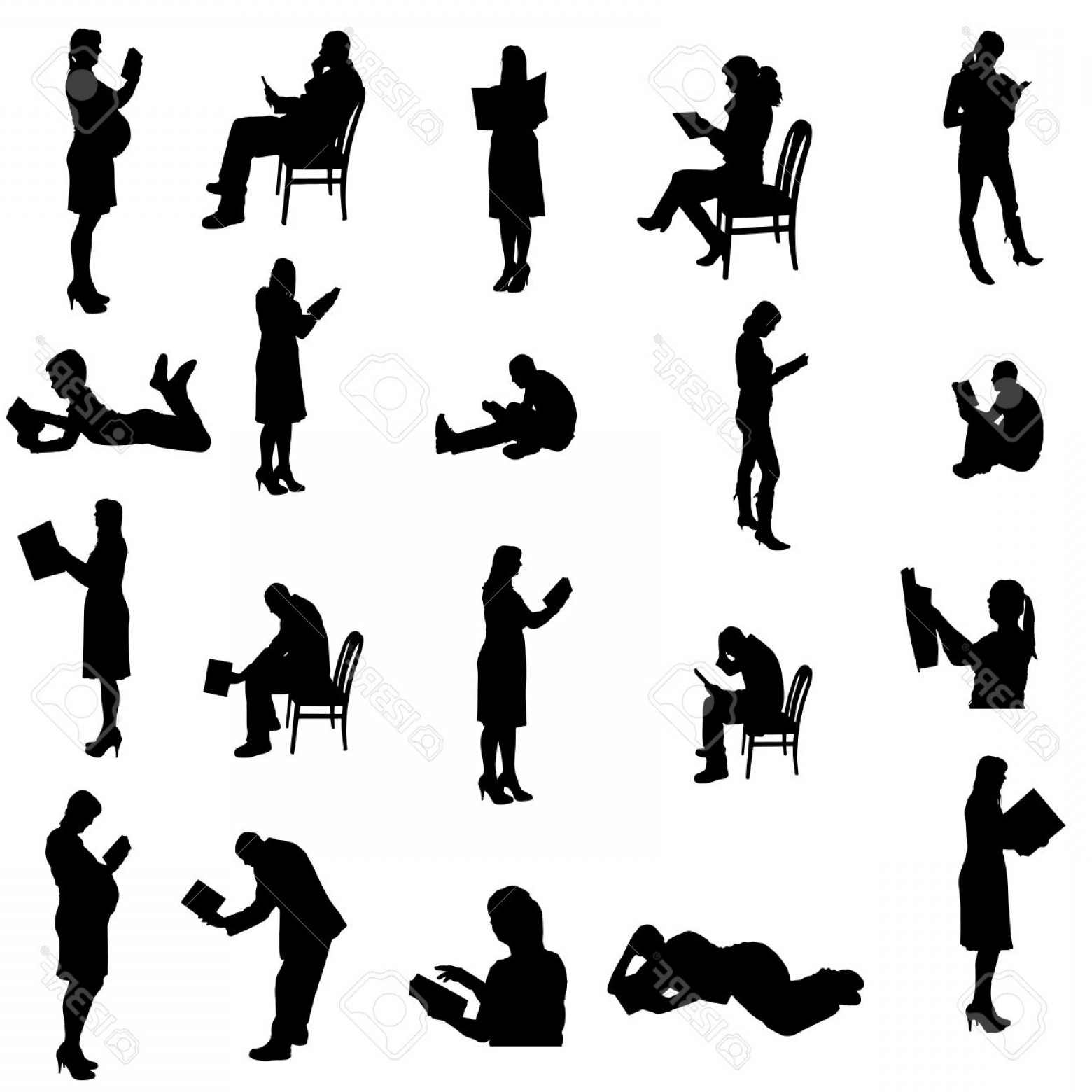silhouette of a person sitting person sitting vector at vectorifiedcom collection of a of silhouette person sitting