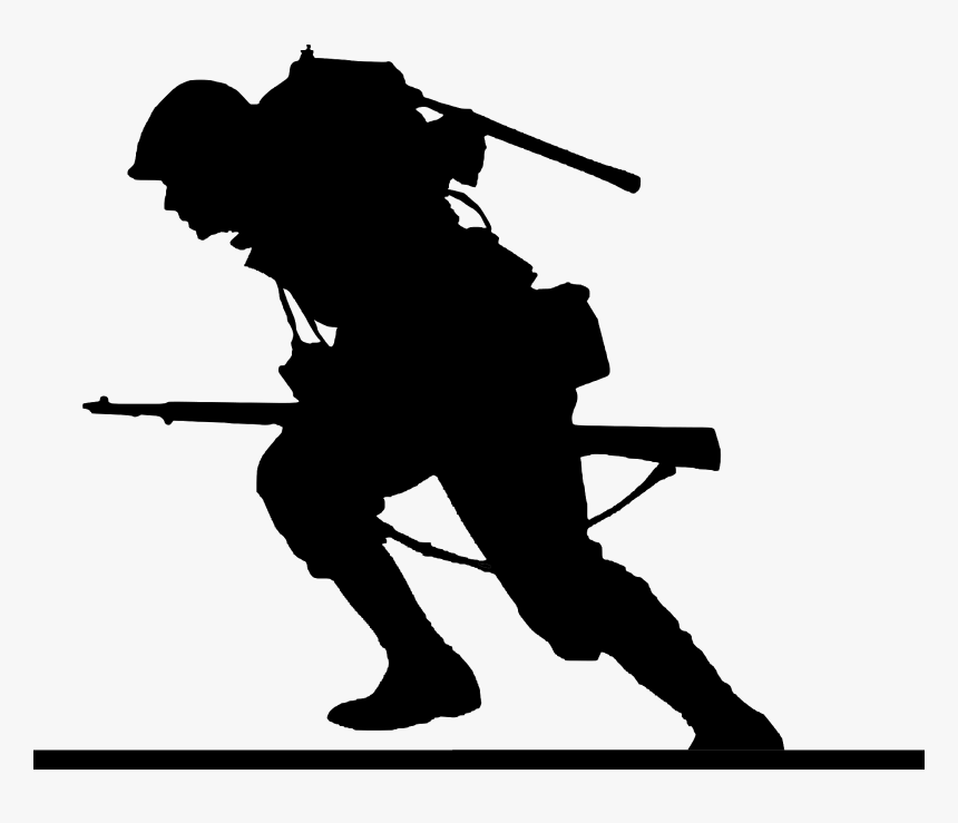 silhouette of soldier 21 soldier silhouettes soldiers svg cut files soldier silhouette of soldier