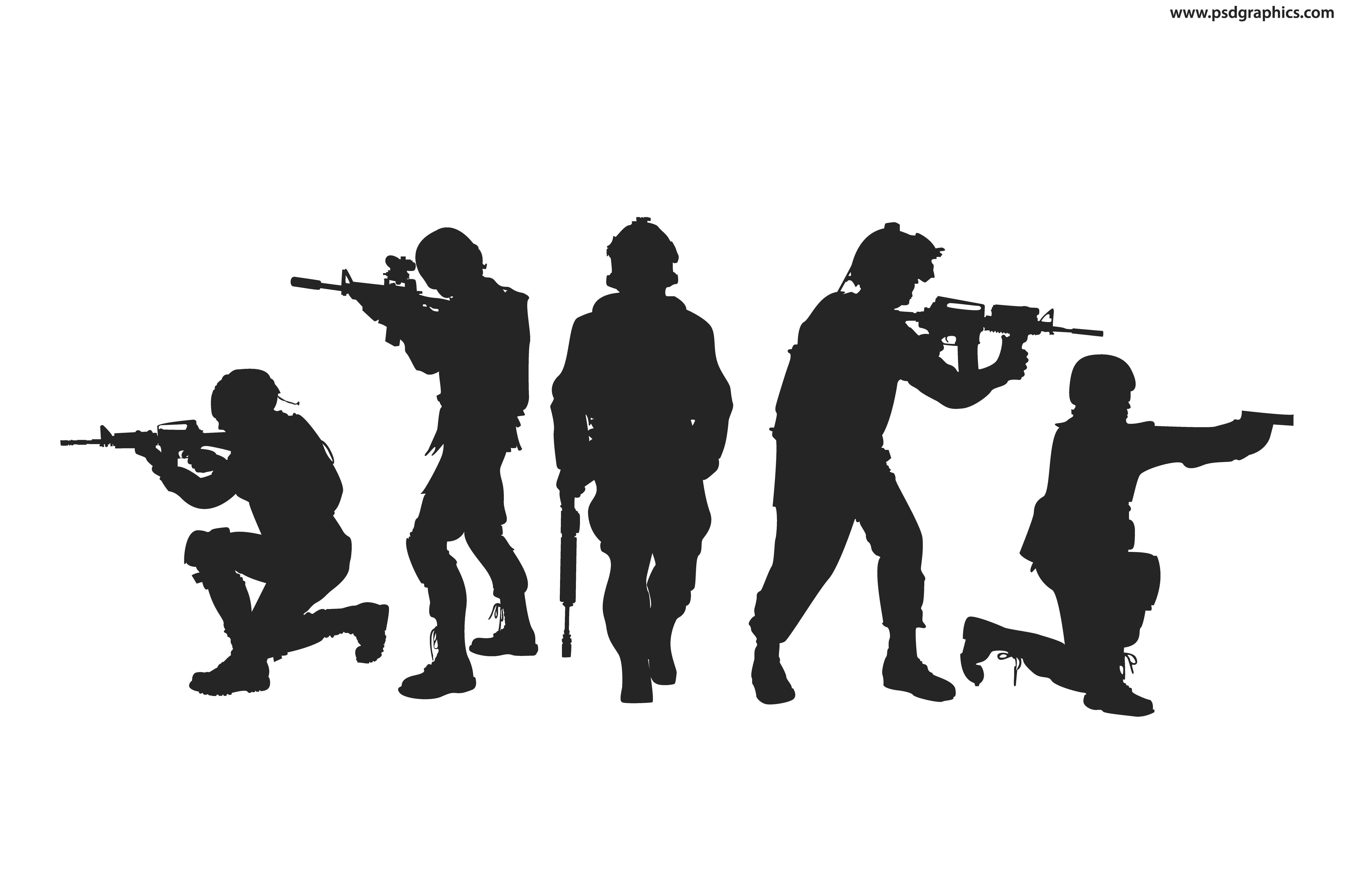 silhouette of soldier soldier silhouette png download 390805 free silhouette soldier of