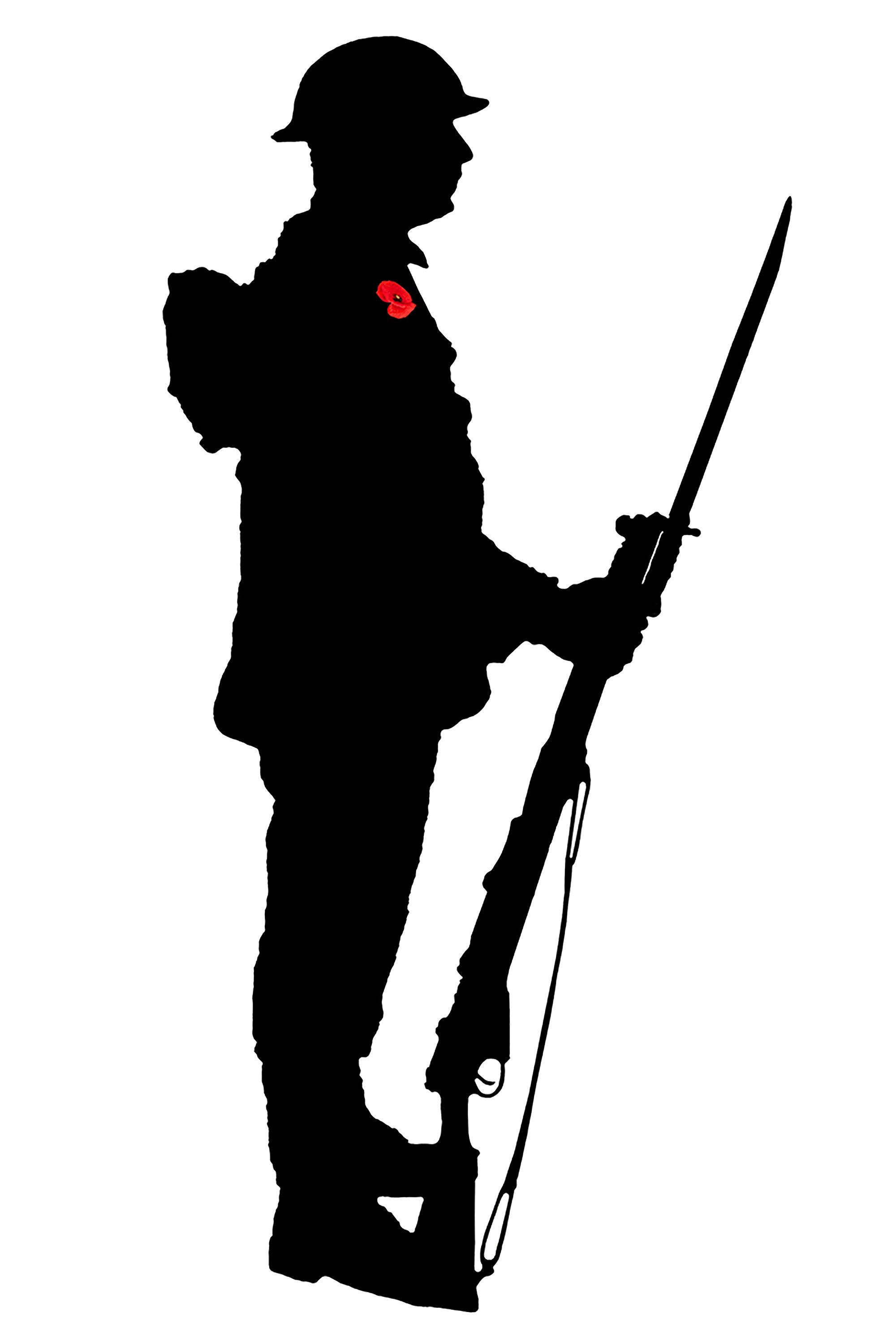 silhouette of soldier soldiers silhouettes vector psdgraphics silhouette of soldier