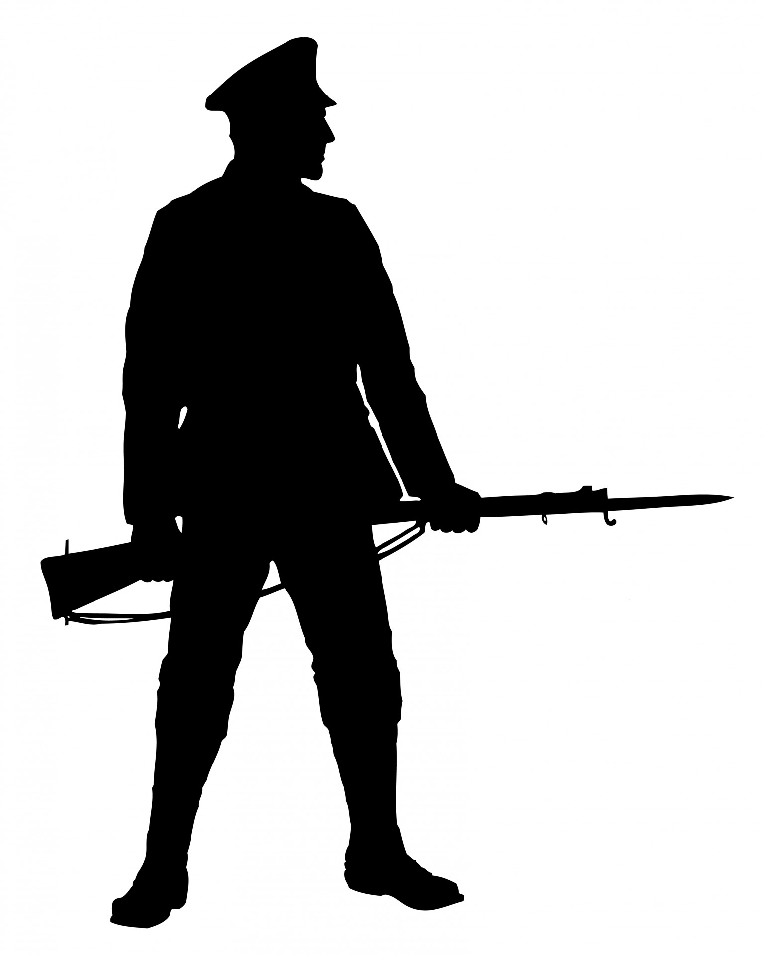 silhouette of soldier world war 1 soldier silhouette at getdrawings free download of soldier silhouette