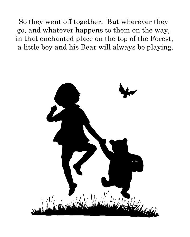 silhouette of winnie the pooh winnie the pooh balloon silhouette vector clipart images winnie the pooh silhouette of