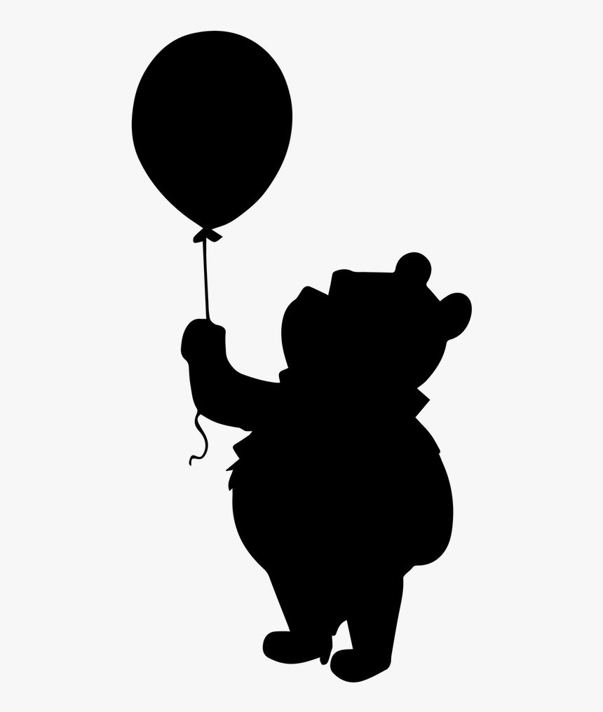 silhouette of winnie the pooh winnie the pooh characters silhouette vector clipart of winnie pooh silhouette the