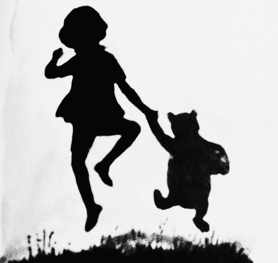 silhouette of winnie the pooh winnie the pooh characters silhouette vector clipart pooh winnie the of silhouette