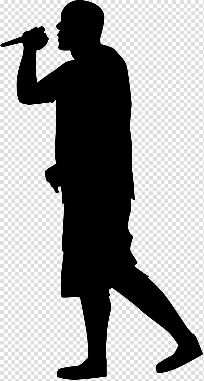 silhouette rapper rapper black guy rapping in a microphone silhouette rapper