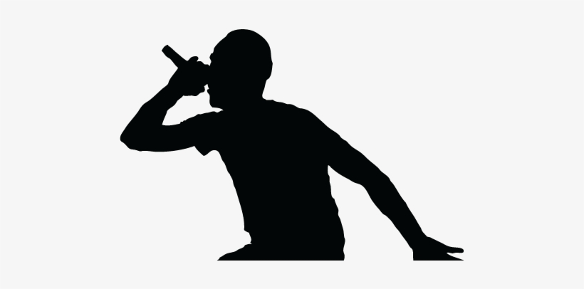 silhouette rapper rapper coloring pages at getdrawings free download rapper silhouette