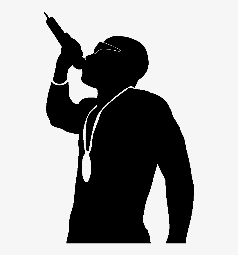 silhouette rapper rapper silhouette at getdrawings free download rapper silhouette