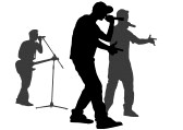 silhouette rapper rapper silhouette at getdrawings free download silhouette rapper 1 1