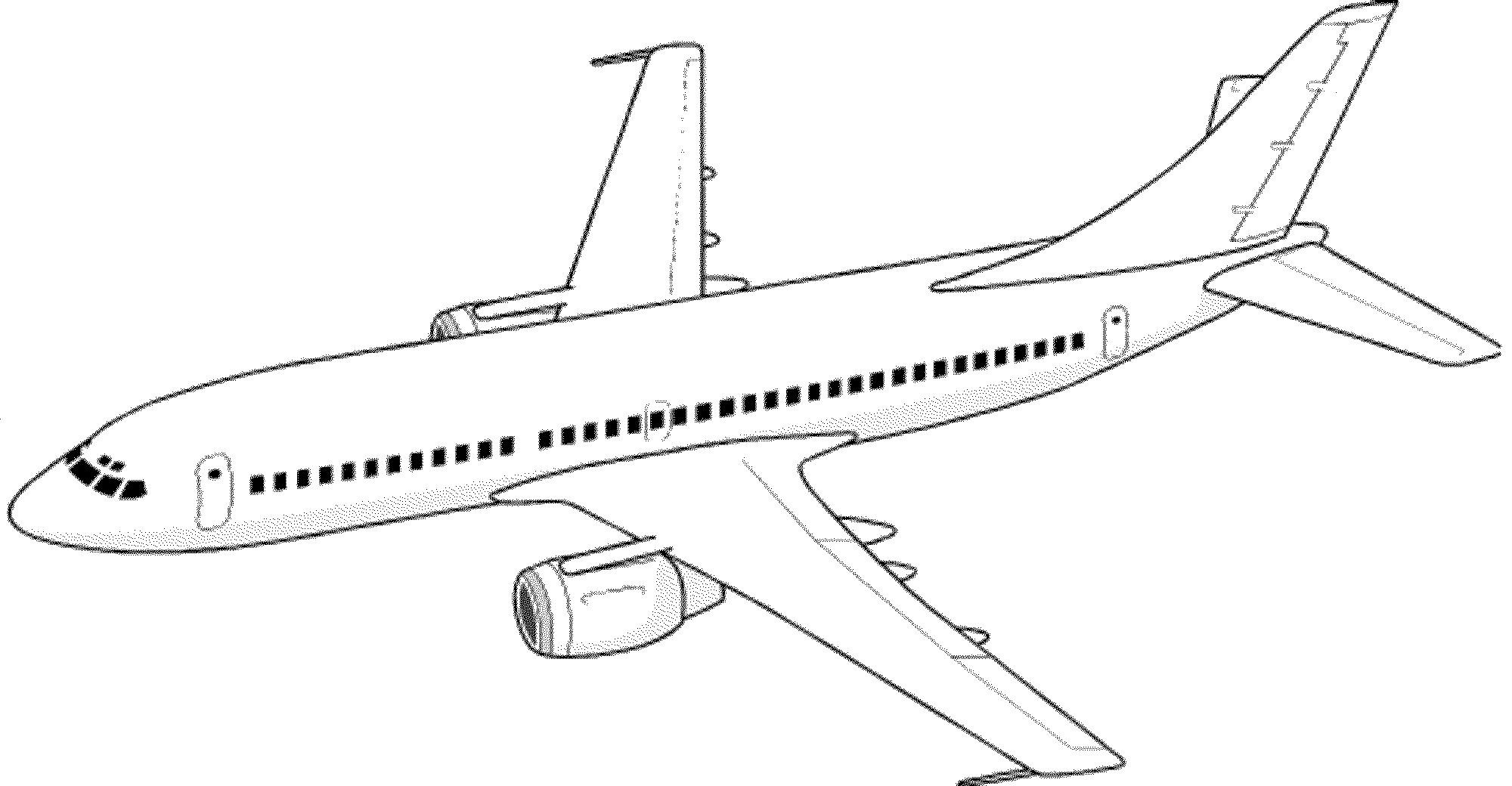 simple drawing of airplane basic airplane drawing at paintingvalleycom explore drawing simple of airplane
