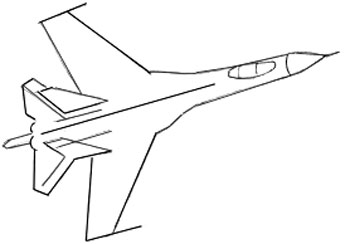 simple drawing of airplane how to draw a plane tutorial drawing tutorial learning airplane of drawing simple