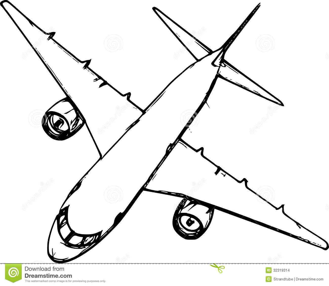 simple drawing of airplane simple airplane drawing at getdrawingscom free for drawing simple airplane of