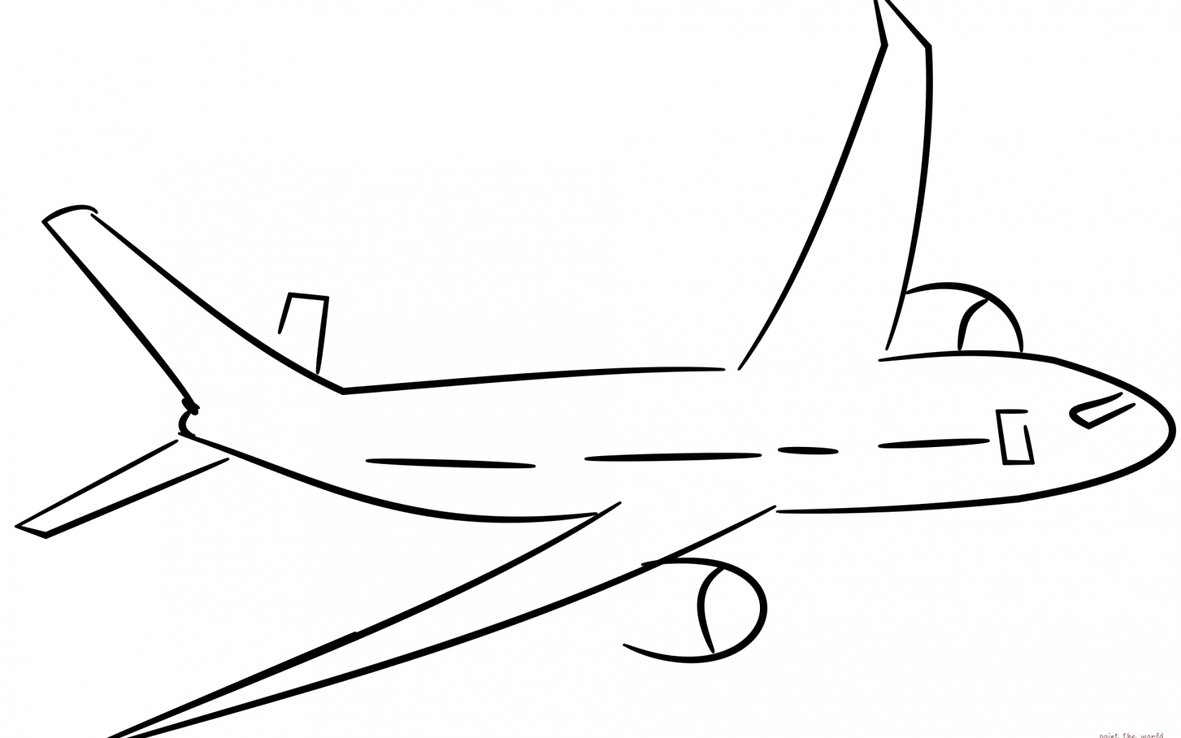 simple drawing of airplane simple airplane drawing free download on clipartmag simple airplane of drawing