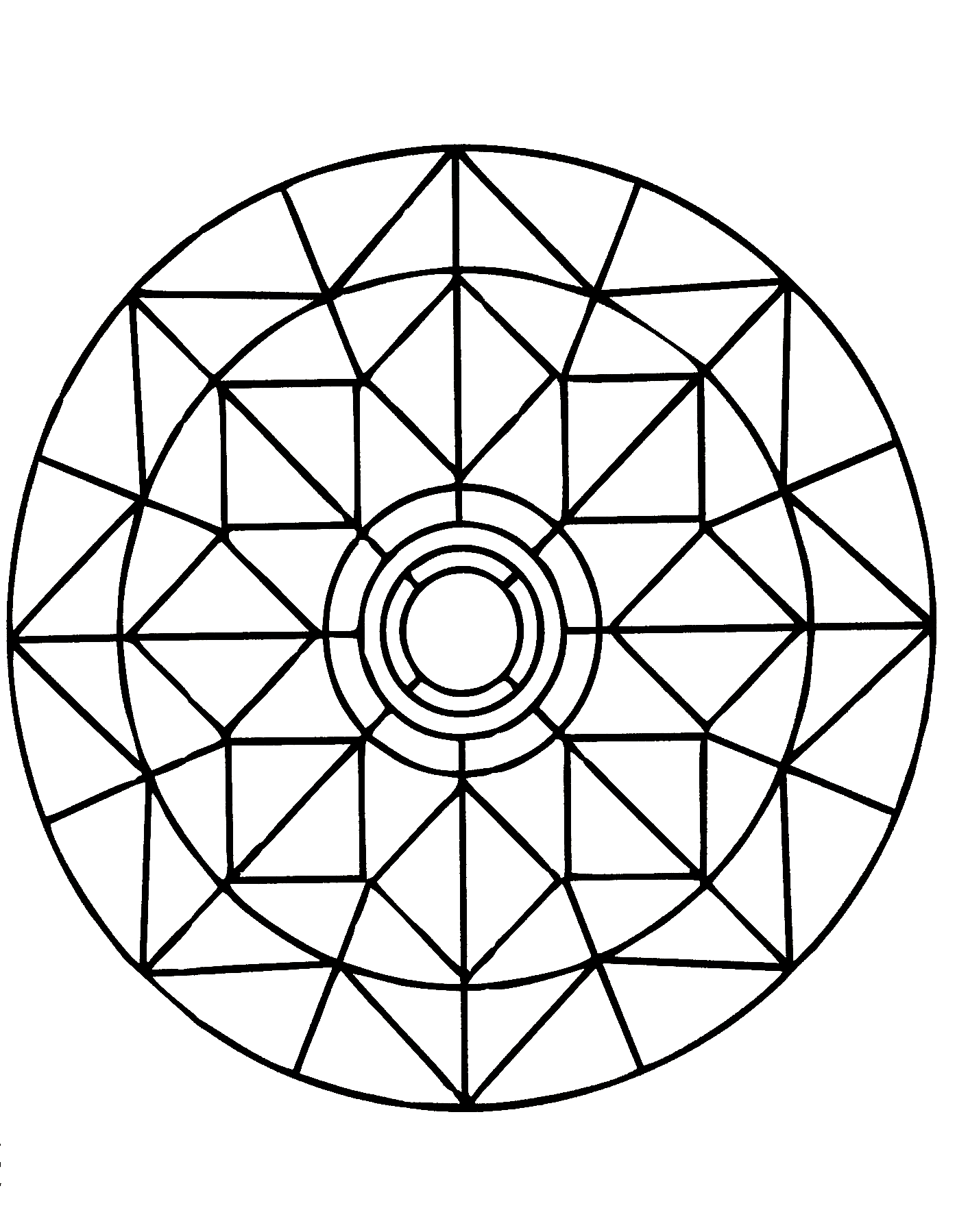 simple mandala coloring page heres a sample page from simple mandalas for you to print mandala coloring simple page