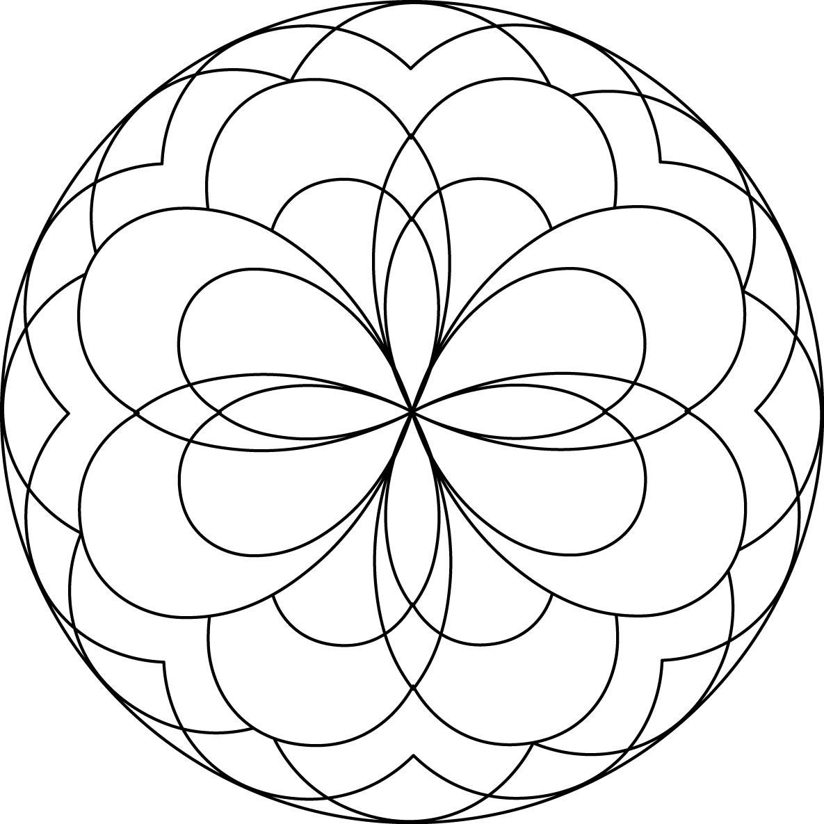simple mandala coloring page simple mandala coloring pages download and print for free coloring simple mandala page