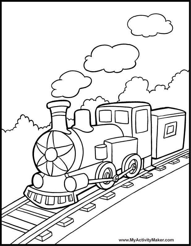 simple train coloring page learning years toy train coloring page train page coloring simple