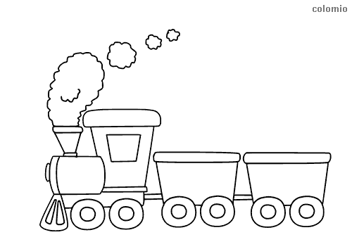 simple train coloring page super simple train coloring pictures for kindergarten simple train page coloring