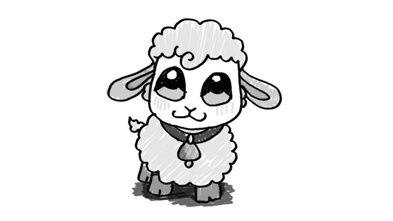 sketch of a sheep lamb drawing images at getdrawings free download sheep of sketch a