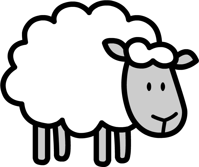 sketch of a sheep sheep line drawing at getdrawings free download of sheep sketch a