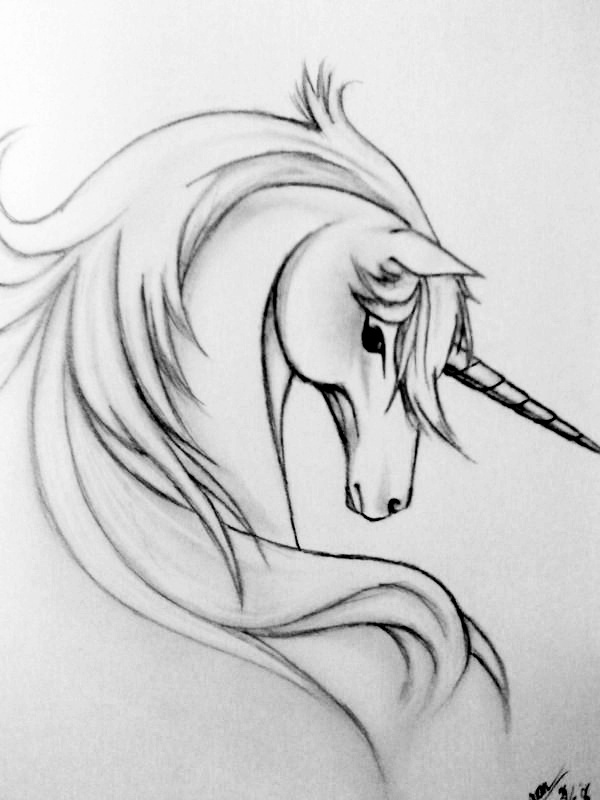 sketch of a unicorn 66 beautiful unicorn tattoos and meanings sketch of a unicorn