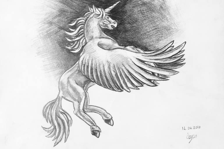 sketch of a unicorn how to draw a unicorn tutorials to help you draw cute unicorn of a sketch