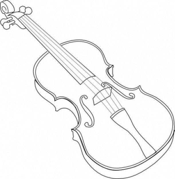 sketch of a violin download premium vector of hand drawn violin isolated on a of violin sketch