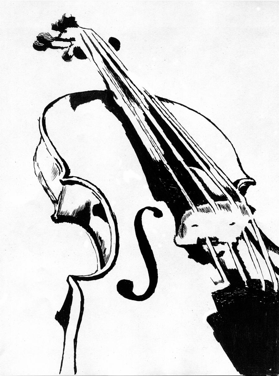 sketch of a violin image result for foreshortening musical instrument violin sketch of a