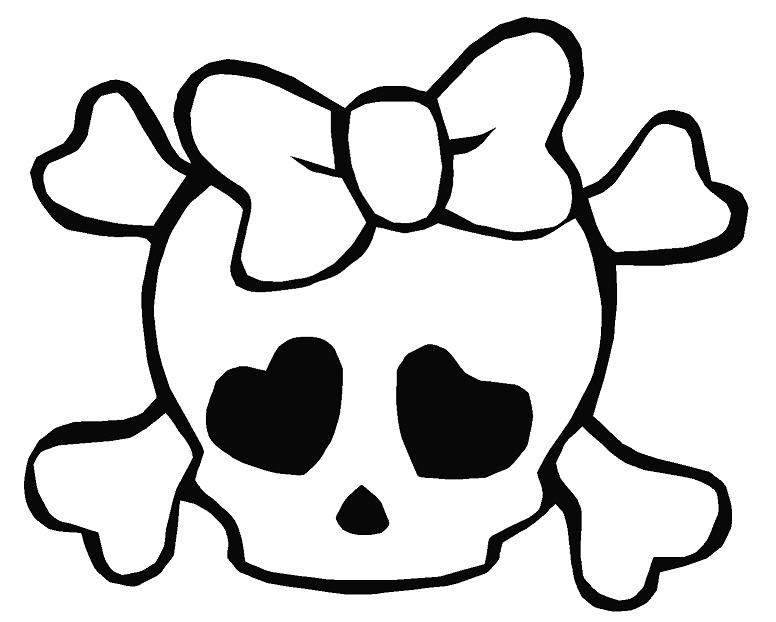 skull and crossbones coloring page skull and crossbones coloring pages halloween skull and bones page and coloring skull crossbones