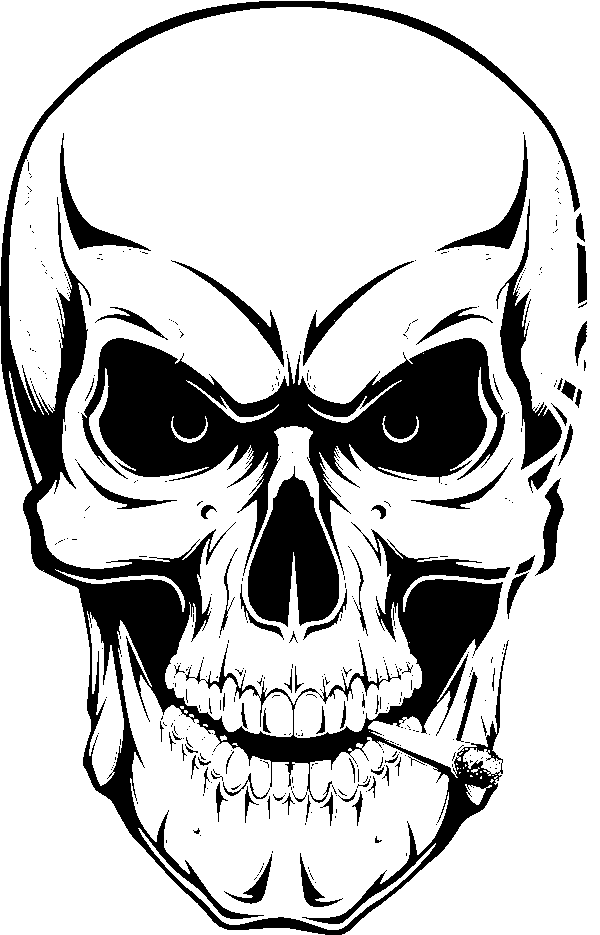 skull drawing how to draw an awesome skull step by step skulls pop skull drawing
