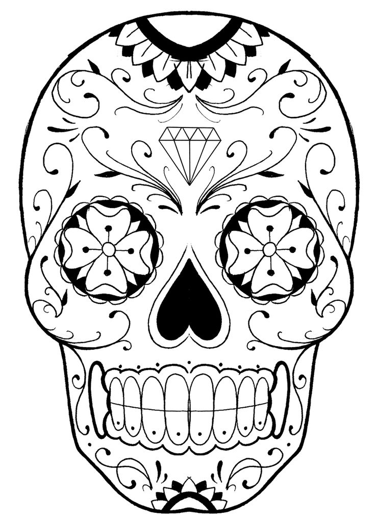 skull mandala coloring pages pin by jamii martin on artcraft skull l ve skull mandala coloring skull pages