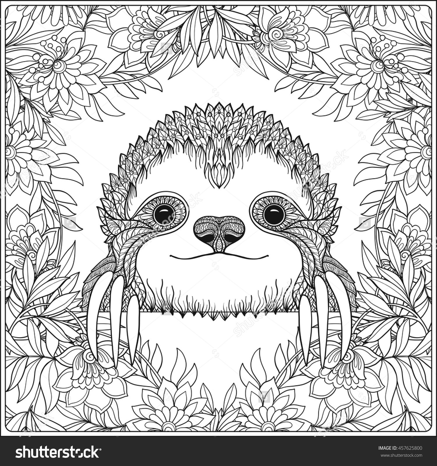 sloth pictures to print sloth coloring pages for kids free printable coloring print pictures sloth to