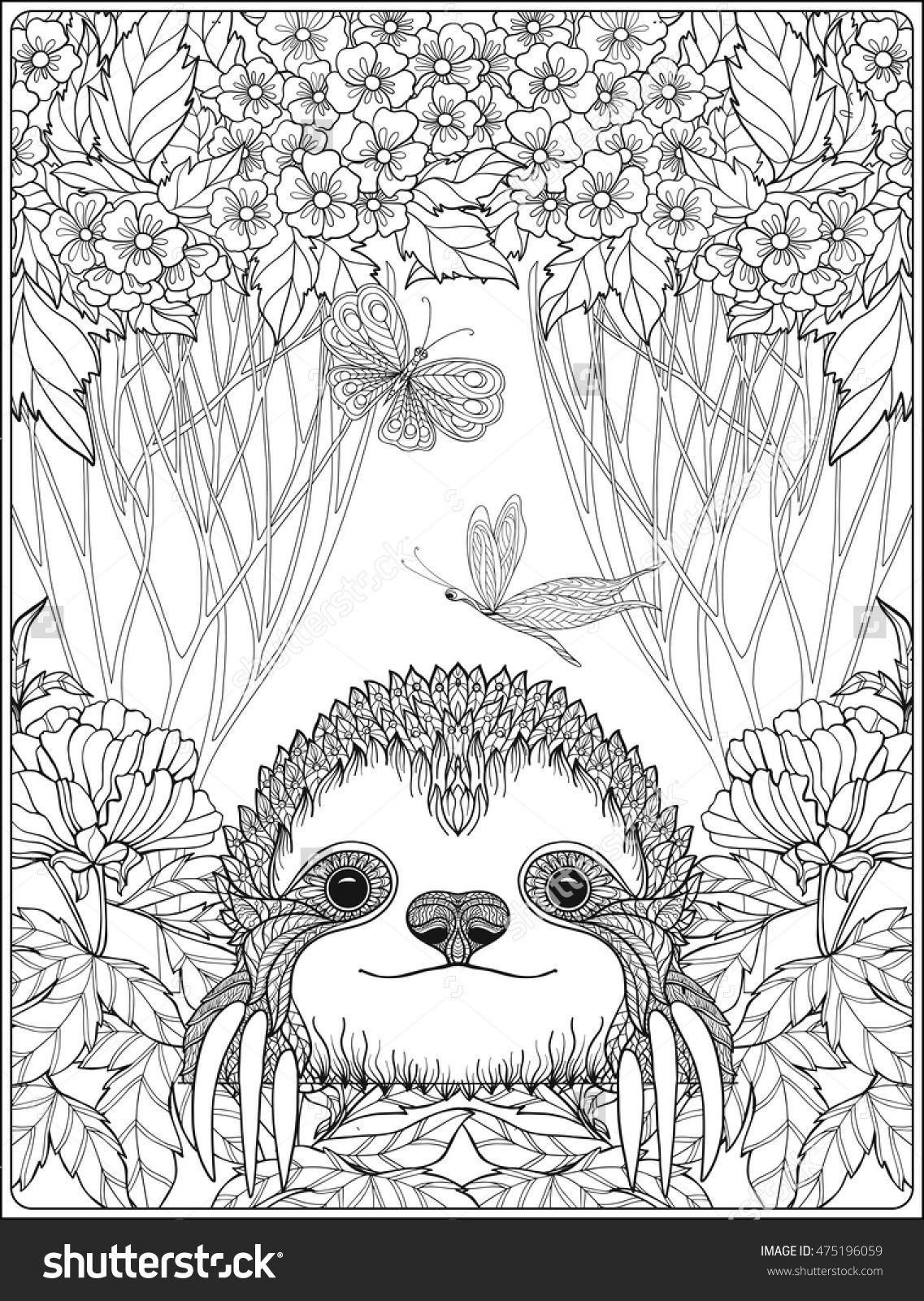sloth pictures to print three toed sloth coloring pages at getcoloringscom free to print sloth pictures