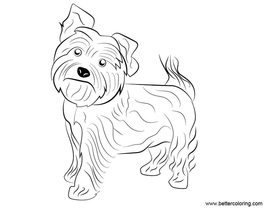 small dog coloring pages cute dog animal coloring pages books for print small coloring pages dog