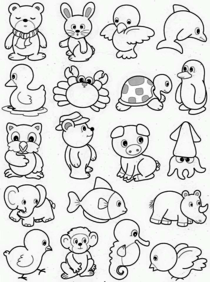 small printable pictures of animals 19 interesting zoo animals coloring pages for your little small animals printable pictures of