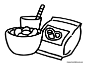 snack coloring pages cute kawaii food coloring pages coloring home pages snack coloring