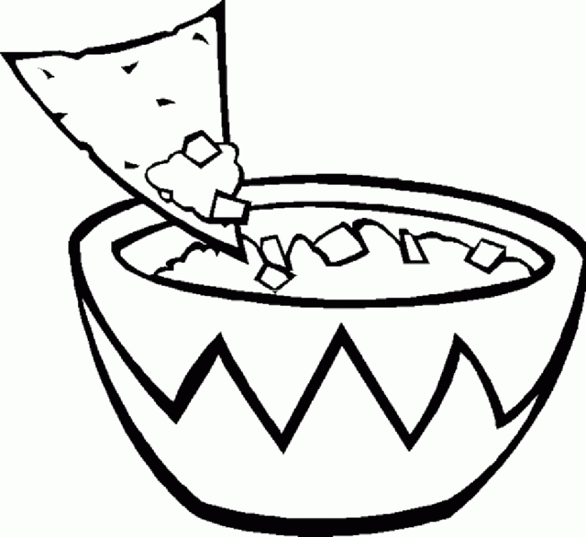 snack coloring pages junk food coloring pages coloring home pages snack coloring