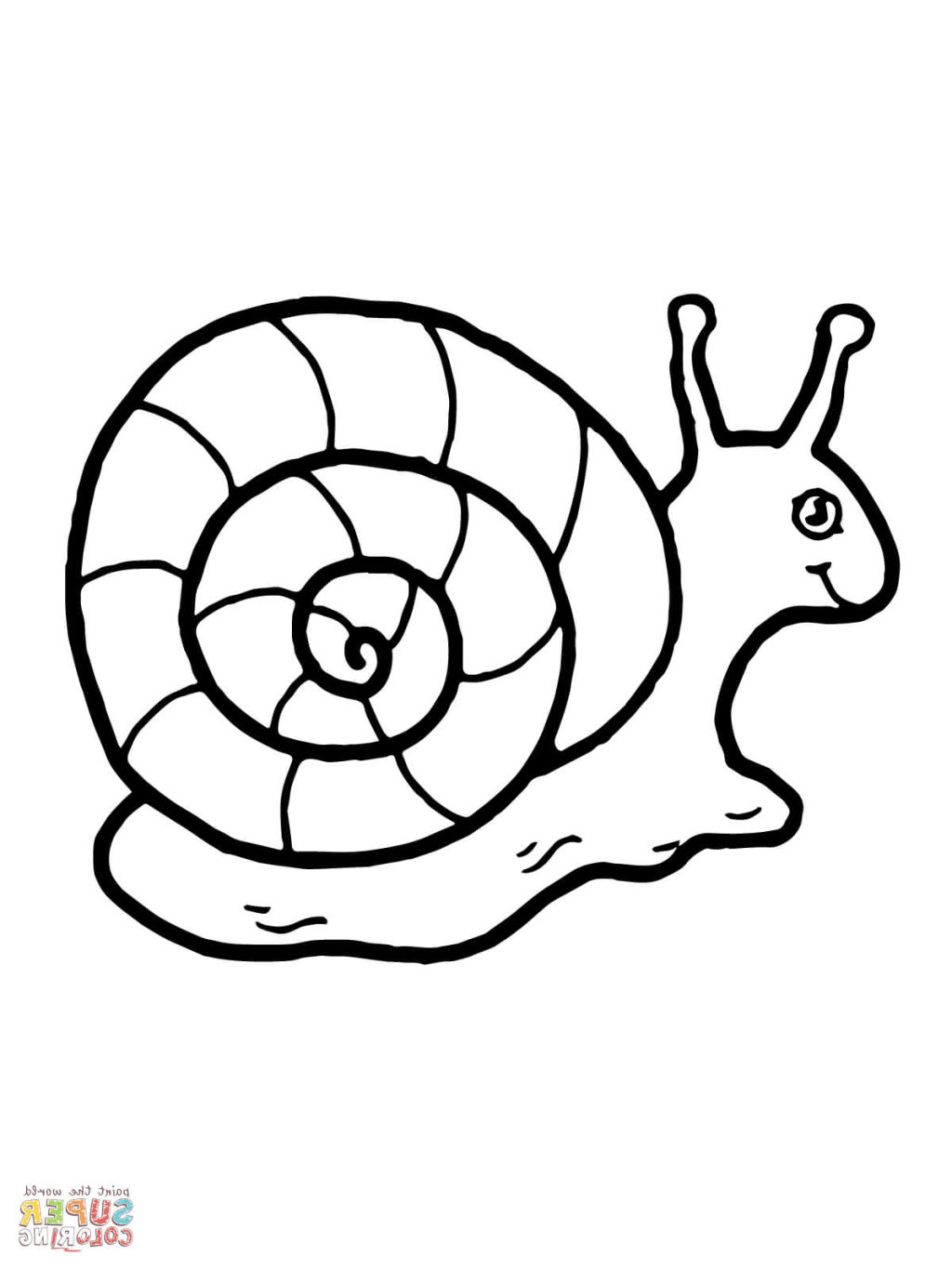 snail colour simple snail drawing at getdrawings free download colour snail