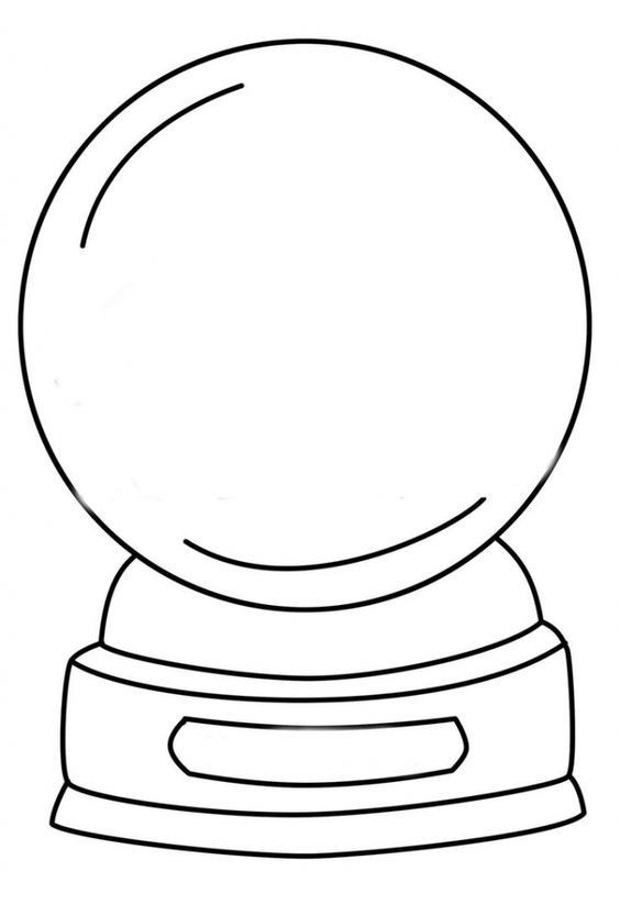 snow globe coloring page 33 best snow globes images on pinterest coloring pages page globe coloring snow