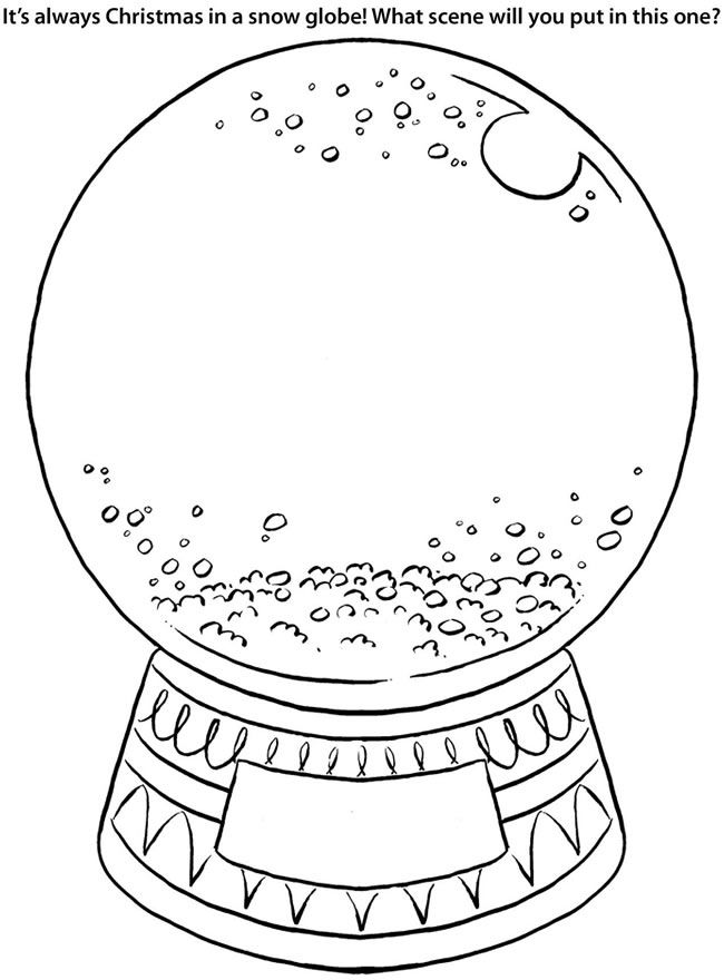 snow globe coloring page cute snow globe drawings clip art library coloring page globe snow