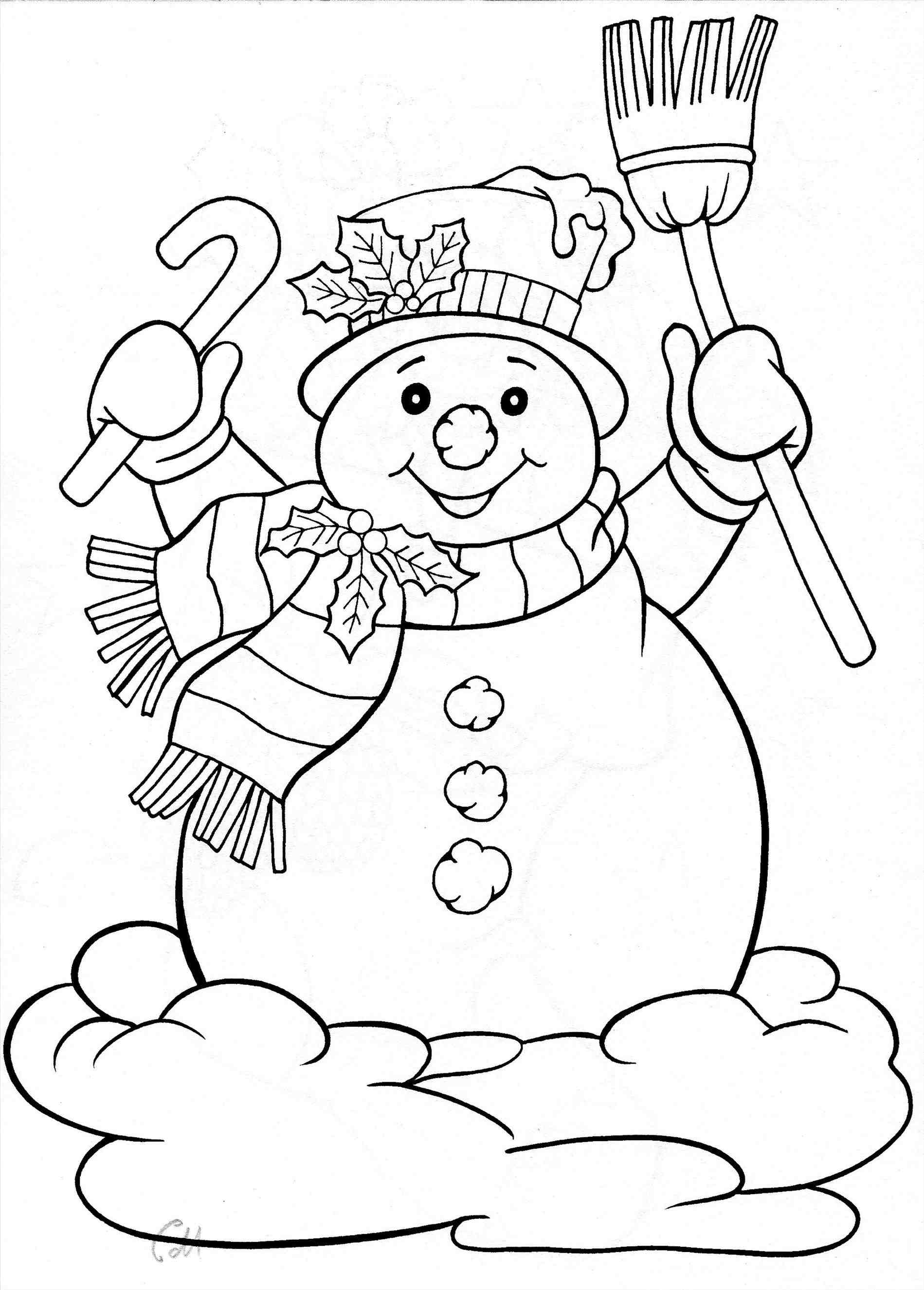 snowman for coloring cute snowman coloring pages at getcoloringscom free coloring snowman for