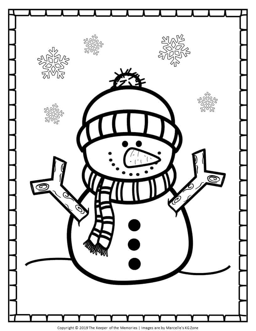 snowman for coloring free printable snowman coloring pages cute snowman the for snowman coloring
